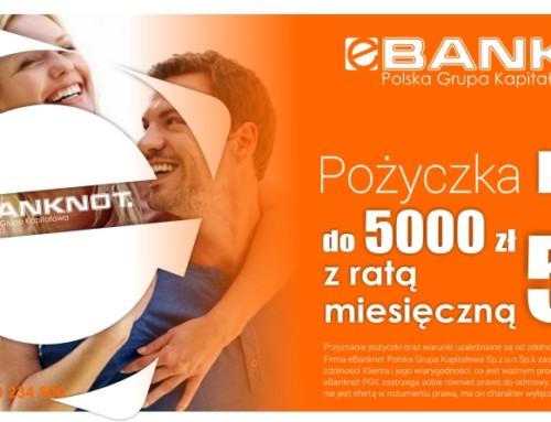 Pożyczka DUO 5000 zł z ratą 56 zł – Nowość!