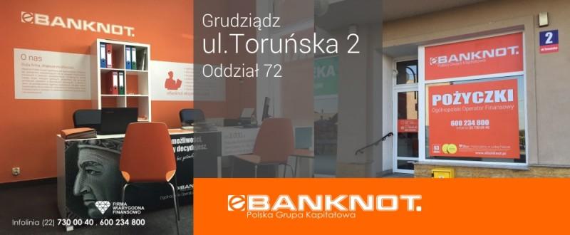 eBanknot Oddział 72 Grudziądz ul.Toruńska 2
