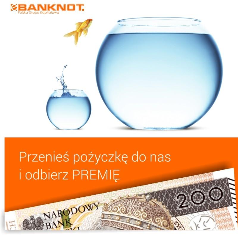 Przenieś pożyczkę do eBanknot