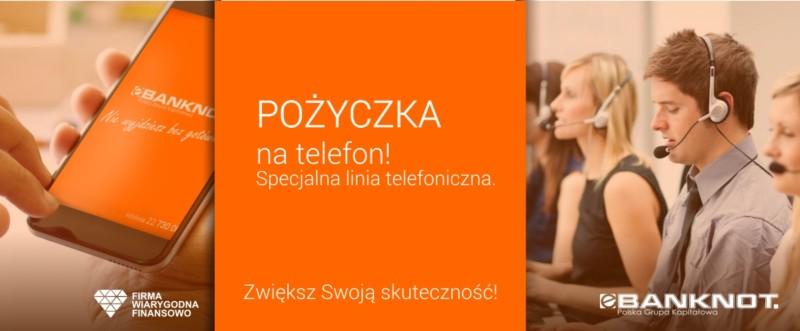 Pożyczka eBanknot na telefon