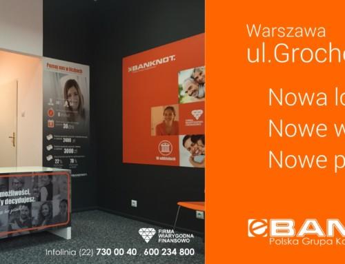 Nowa lokalizacja oddziału 22 w Warszawie